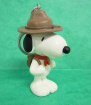 Snoopy - Figurine PVC Plastoy - Snoopy Scout (Porte-clés)