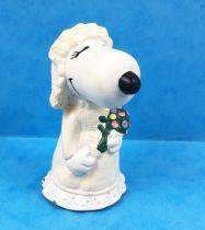 Snoopy - Figurine PVC Schleich - Belle mariée