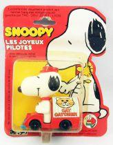 """Snoopy - Hasbro Aviva - Happy Die-Cast \""""Cat Catcher Snoopy\"""""""
