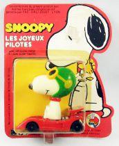 "Snoopy - Hasbro Aviva - Happy Die-Cast \""Racer Snoopy\"""