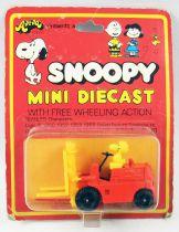 "Snoopy - Hasbro Aviva - Mini Die-Cast \""Fork Lift Woodstock\"""