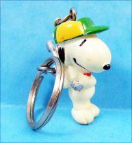Snoopy - Keychain PVC Figure - Golfer Snoopy