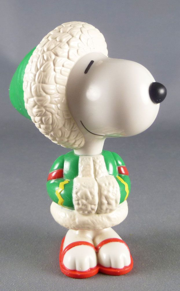 Snoopy - McDonald Premium Action Figure - Snoopy Alaska
