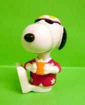 Snoopy - McDonald Premium Action Figure - Snoopy Hawaii
