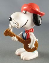 Snoopy - Schleich PVC Figure - Gaùcho Snoopy with Lasso