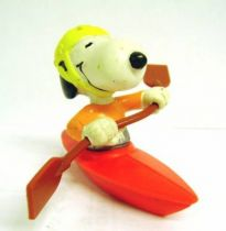 Snoopy - Schleich PVC Figure - Snoopy in Kayak