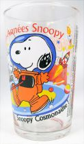 Snoopy - Verre à moutarde Amora - Les années 90 : Snoopy Cosmonaute