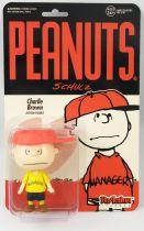 Snoopy et les Peanuts - Figurine ReAction Super7 - Charlie Brown