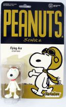 Snoopy et les Peanuts - Figurine ReAction Super7 - Flying Ace