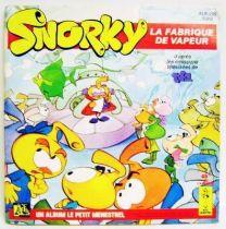 Snorkels - Mini-LP Book-Record - The Steam Maker - Ades / Le Petit Menestrel Records 1986
