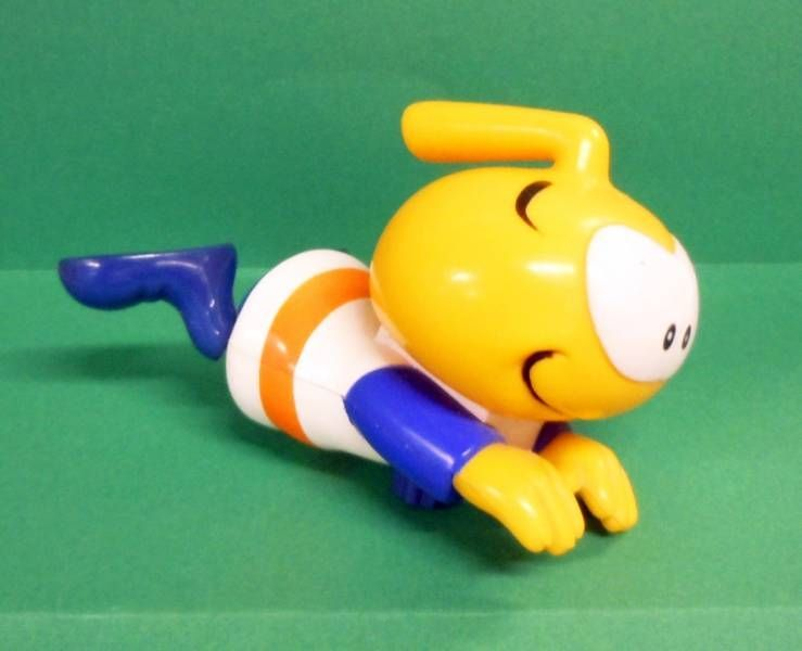 Snorky / Snorkles - Bath Toy - Swimming Snorkle (Wind-Up) Loose