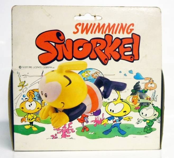 Snorky / Snorkles - Bath Toy - Swimming Snorkle (Wind-Up)