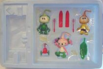 Snorky / Snorkles - Minilands Action Figures - Looter, Dimmy & Casey