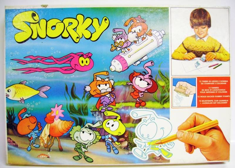 Snorky / Snorkles - Stamps set - Multiprint 1986