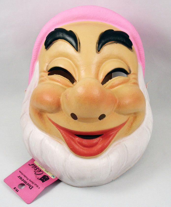 Snow White - Face-mask by César - Sleepy the Dwarf