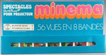 Snow White - Meccano France - Minema 1st Series 8 Strips 56 Colors Views Mint in Box