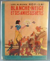 Snow White & the 7 Dwarfs - OE 1938 Hachette Pop Up Book -Snow White & her pet friends