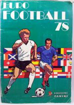 Soccer - Panini Stickers Album - Euro Football 78