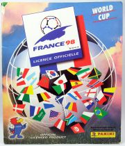 Soccer - Panini Stickers Album - FIFA World Cup France 1998