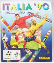 Soccer - Panini Stickers Album - FIFA World Cup Italia 1990