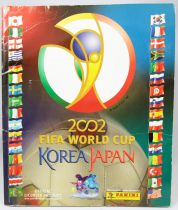 Soccer - Panini Stickers Album - FIFA World Cup Korea Japan 2002