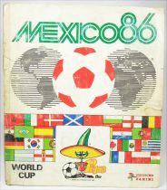 Soccer - Panini Stickers Album - FIFA World Cup Mexico 1986