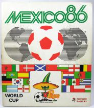 Soccer - Panini Stickers Album - FIFA World Cup Mexico 1986