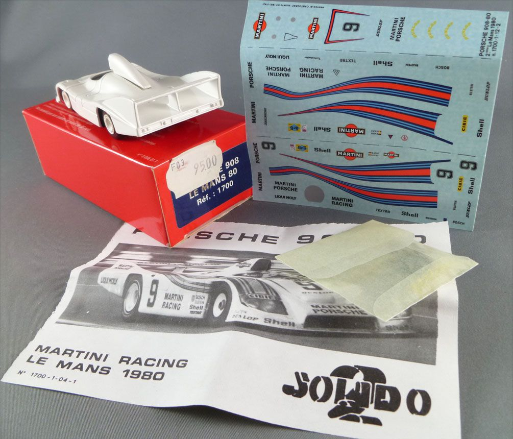 solido edition limit e r f 1700 porsche 908 le mans 1980 neuve boite. Black Bedroom Furniture Sets. Home Design Ideas