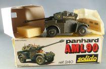 Solido Militaire Réf 240 Panhard AML 90 Picardie Flandre Belfort Neuf en Boite