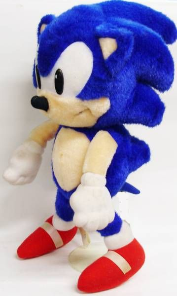 Sonic the Hedgehog - Sega 1992 - Sonic 14\'\' plush doll
