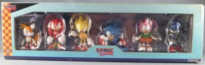 Sonic The Hedgehog Sega Mini Figures Collectibles 6 Pack