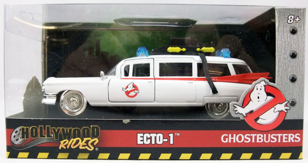 S.O.S. Fantômes (Ghostbusters) - Ecto-1 - Vehicule métal 1/32ème - Jada Toys