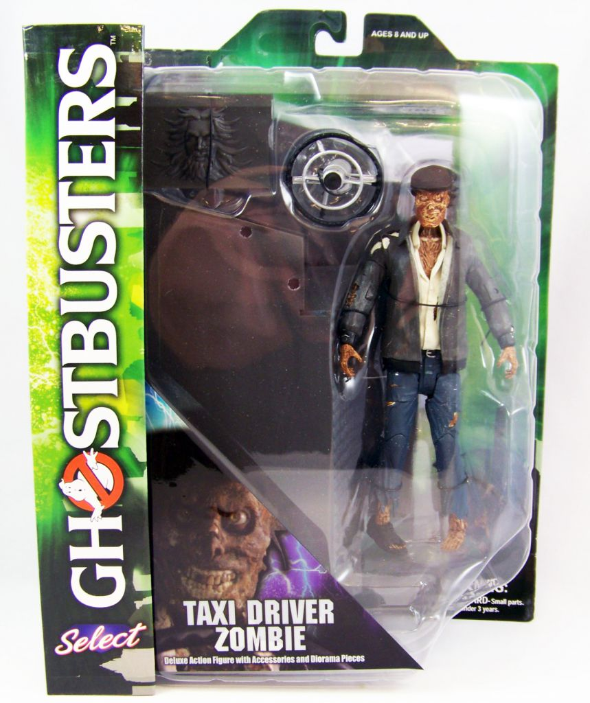 S.O.S. Fantômes Ghostbusters - Diamond Select - Taxi Driver Zombie