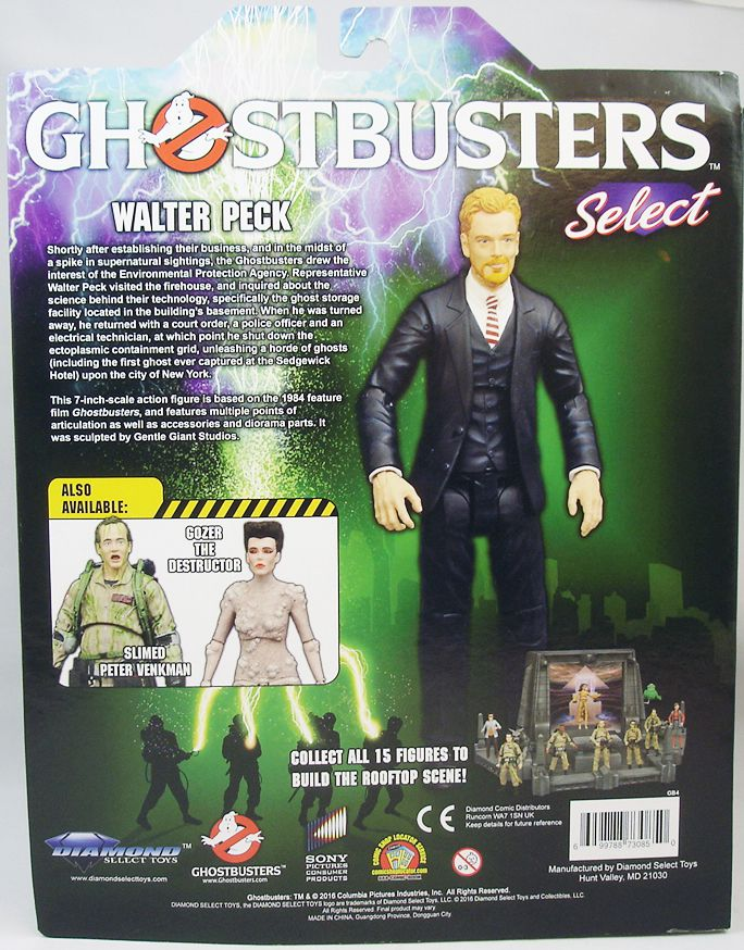 S.O.S. Fantômes Ghostbusters - Diamond Select - Walter Peck