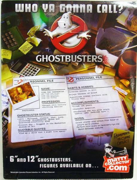 S.O.S. Fantômes Ghostbusters - Mattel - Vigo