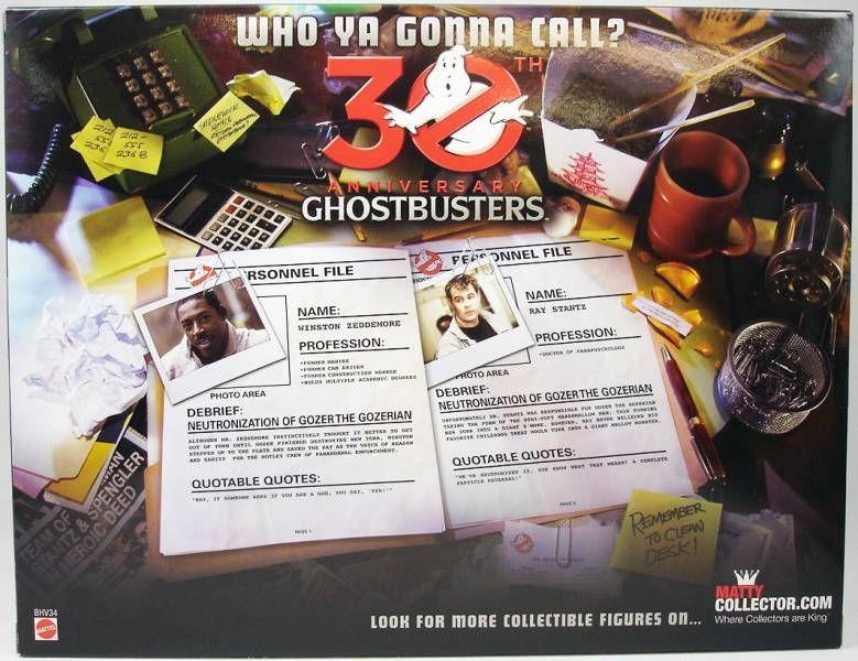S.O.S. Fantômes Ghostbusters - Mattel - Winston Zeddemore & Ray Stantz (30th Anniversary)