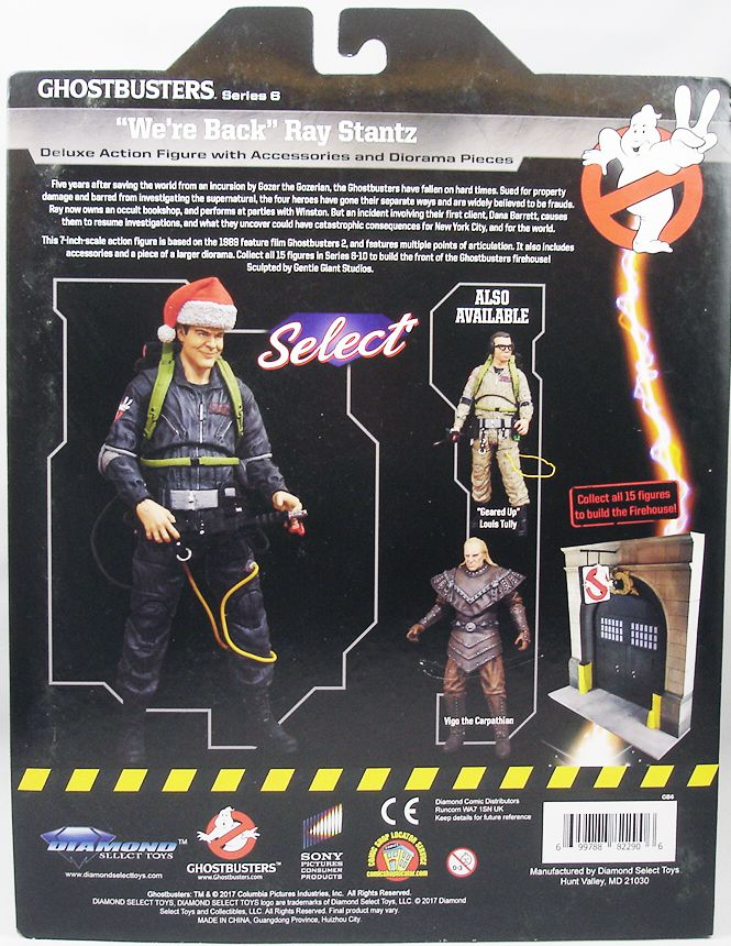 S.O.S. Fantômes Ghostbusters II - Diamond Select - We\'re Back Ray Stantz