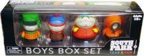 South Park Mezco - Boys Box Set : Kyle, Stan, Cartman, Kenny.