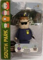 South Park Mezco series 1 - Officer Barbrady (closed mouth)