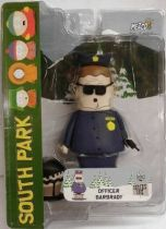 South Park Mezco series 1 - Officer Barbrady (opened mouth)