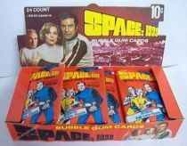 Space 1999 - Bubble Gum Cards + Display