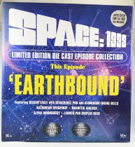 Space 1999 - Deluxe Limited Edition Diecast Set - Earthbound Eagle & Kaldorian Craft - Sixteen 12