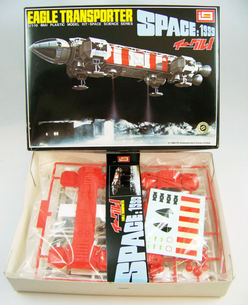 Cosmos 1999 - Maquette IMAI - Eagle Transporter (Rescue) 04