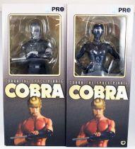 Space Adventures Cobra - High Dream - Cobra & Lady Armanoid (black & white) 12\'\' vinyl figures
