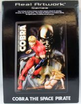 Space Adventures Cobra - RAWS Real Artwork series - 3-D poster resin sculpture Cobra the Space Pirate