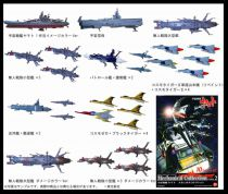 Space Battleship Yamato - Mechanical Collection Part. 2 Plex (2007)