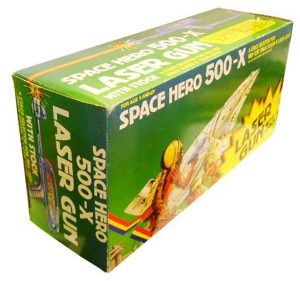 Space Gun - Electronic Gun - Space Hero 500-X