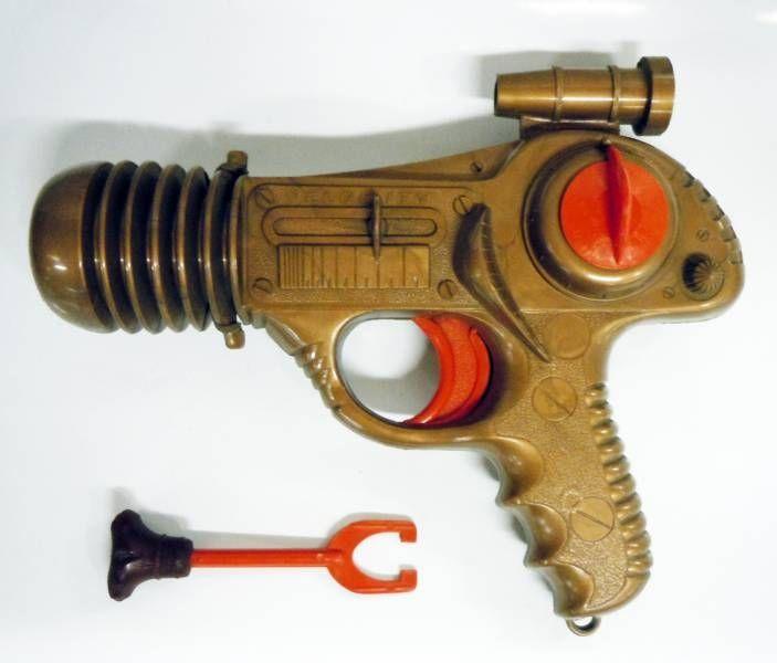 Space Gun - Pistolet Lance Fléchette - Le Pistolet Atomic (Type Tudor Rose Space Ray Pistol)