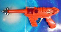 Space Gun - Sparkling Toy - \'\'Space Pilot\'\' Jet Ray Gun (Fluo)