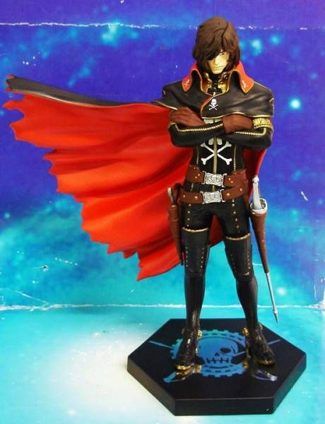 Space Pirate Captain Harlock - 8\'\' pvc figure - Sega